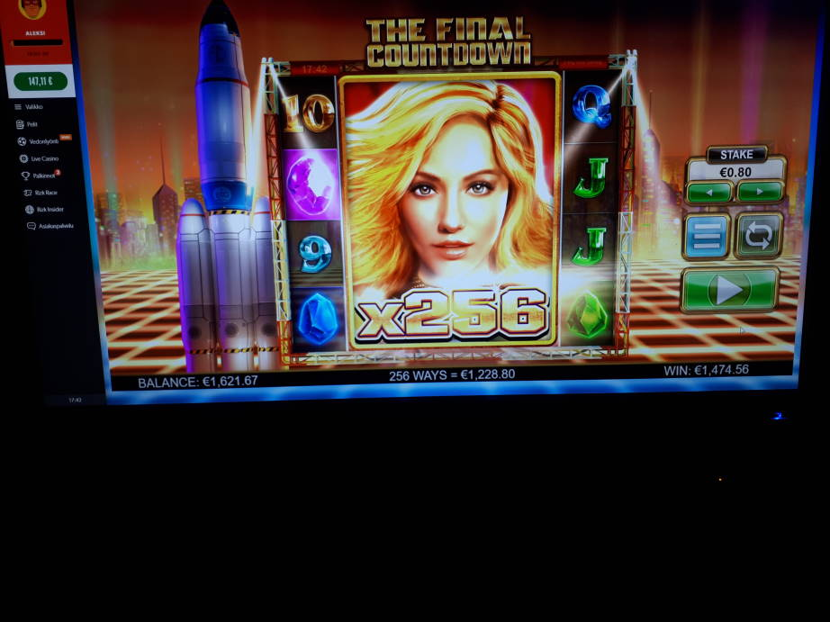 The Final Countdown Big win picture by vapeallu 2.1.2020 1474.56e 1843X Rizk