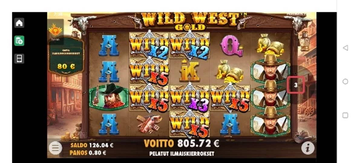 Wild West Gold Casino win picture by Salatheel 27.3.2020 805.72e 1007X