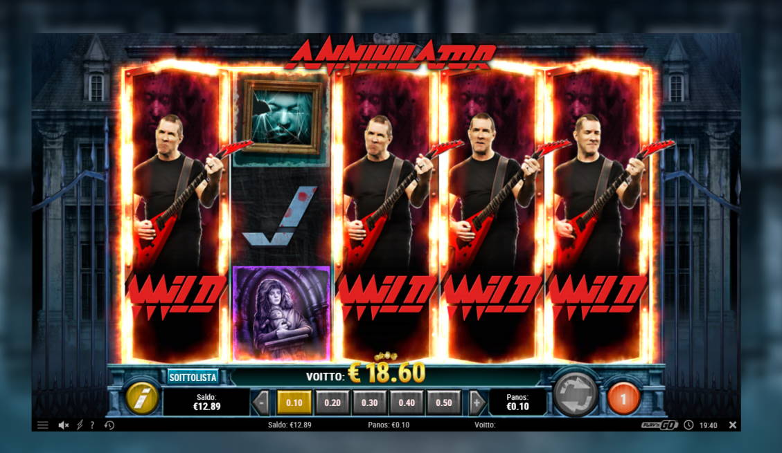 Annihilator Casino win picture by Banhamm 27.4.2020 18.60e 186X