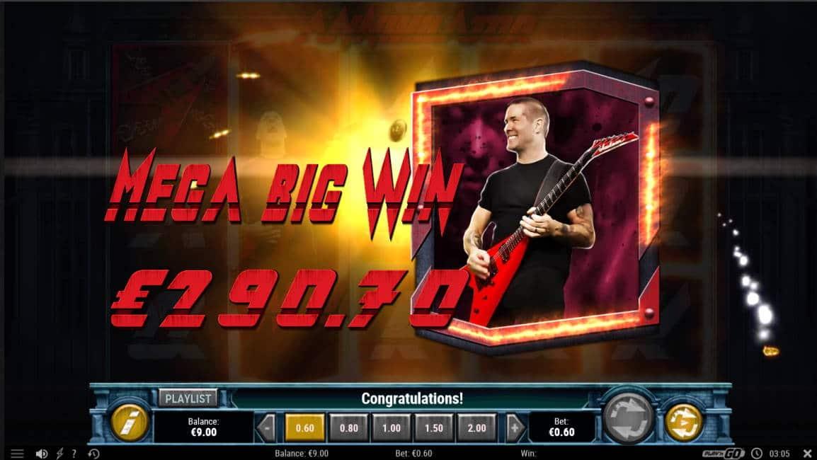 Annihilator Casino win picture by Kari Grandi 29.4.2020 290.70e 485X