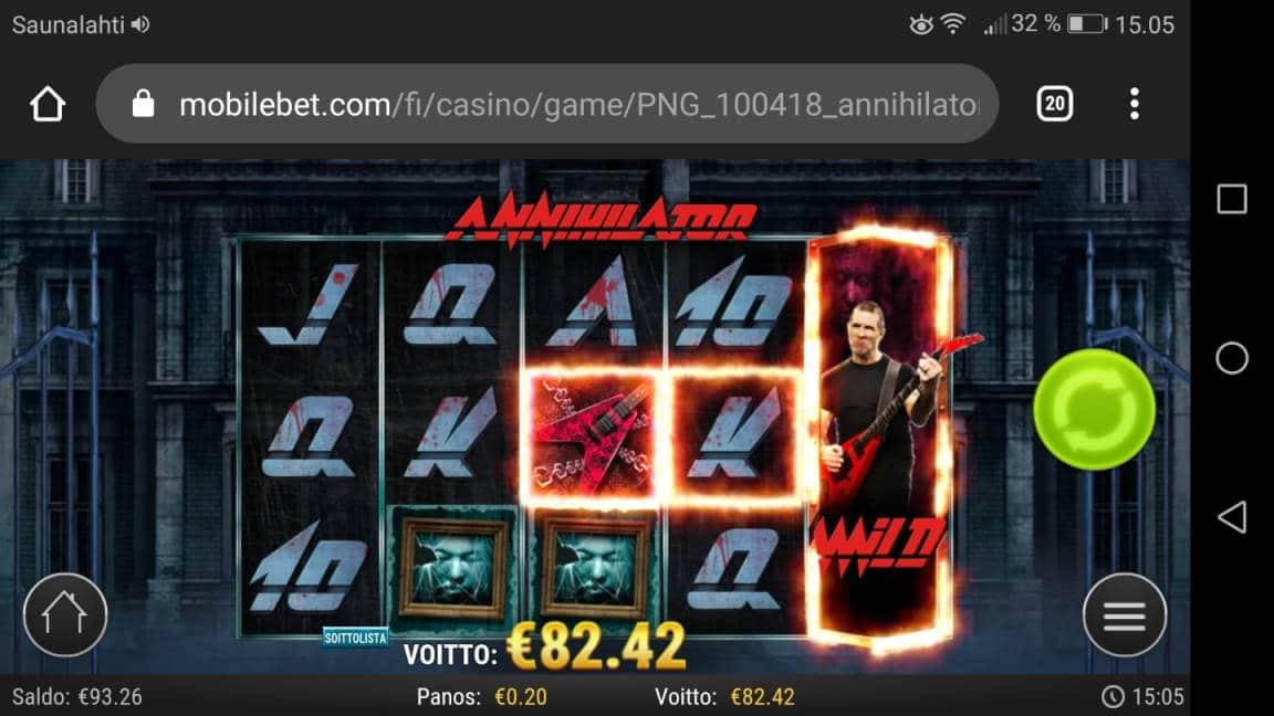 Annihilator Casino win picture by LexKing 27.4.2020 82.42e 412X Mobilebet