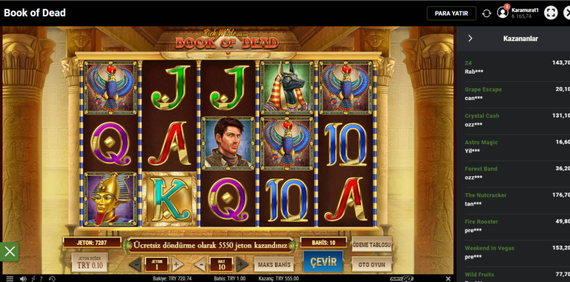 Book of Dead Casino win picture by murat1234_ 19.4.2020 555TRY 550X