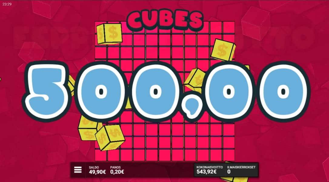 Cubes Casino win picture by fujilwyn 3.4.2020 543.92e 2720X
