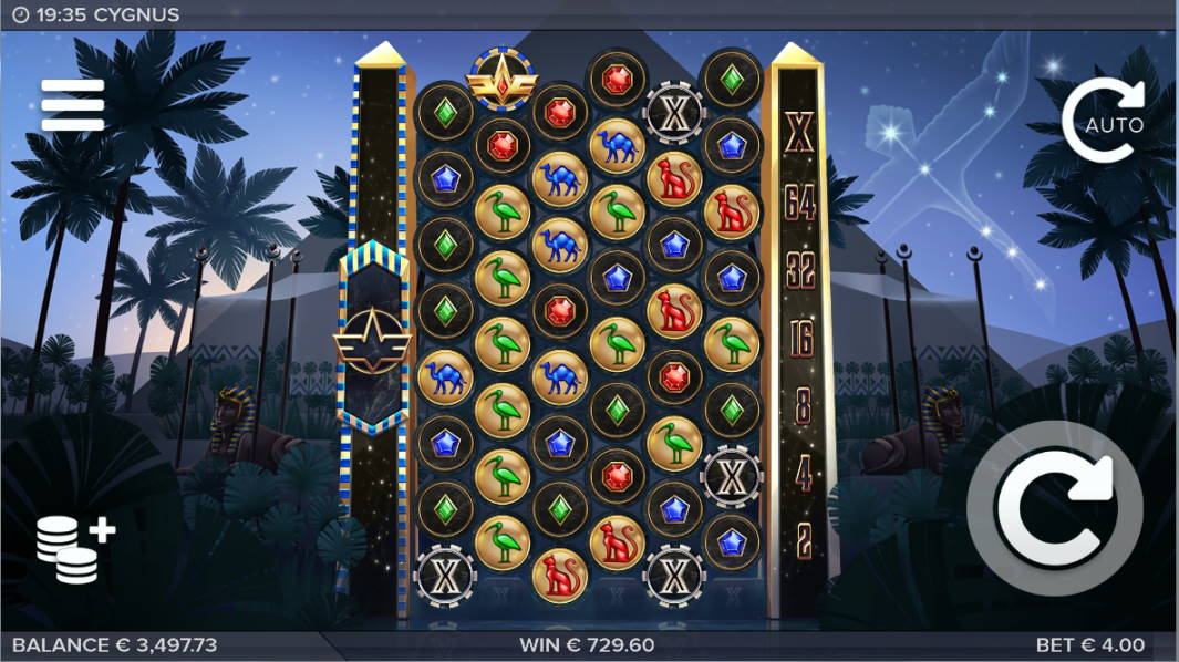 Cygnus Casino win picture by klaspetterniklas 7.4.2020 729.60e 182X Light Casino
