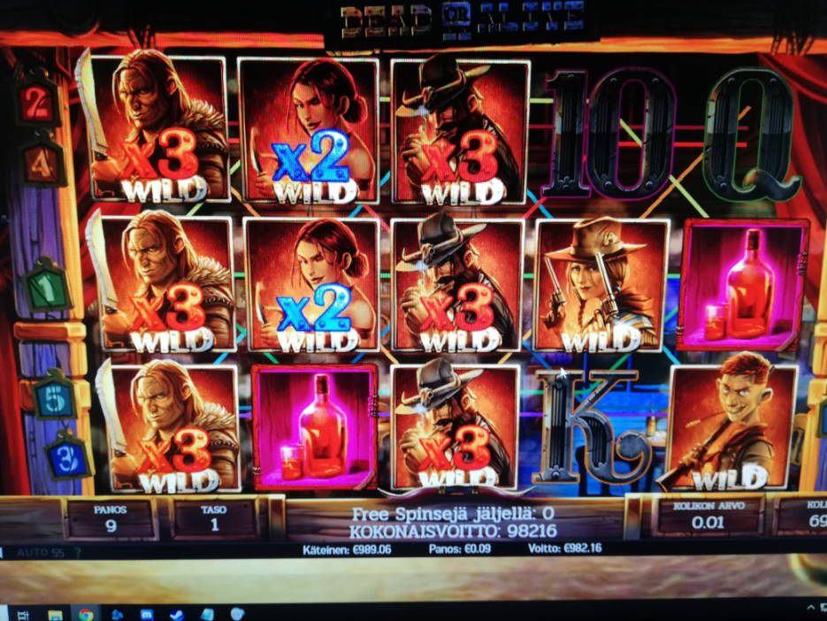 Dead or Alive 2 Casino win picture by shokkiofficial 6.4.2020 982.16e 10913X