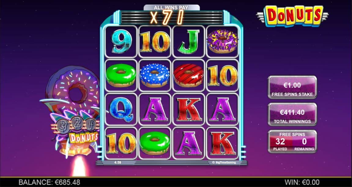 Donuts Casino win picture by Kari Grandi 29.4.2020 411.40e 411X