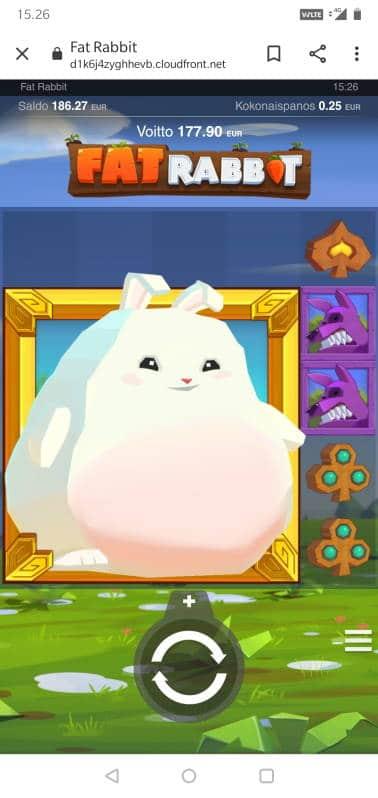 Fat Rabbit Casino win picture by Miksuysikuus 6.4.2020 177.90e 712X