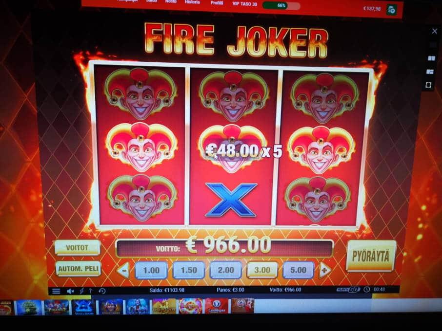 Fire Joker Casino win picture by Jojelini 4.4.2020 966e 322X LeoVegas