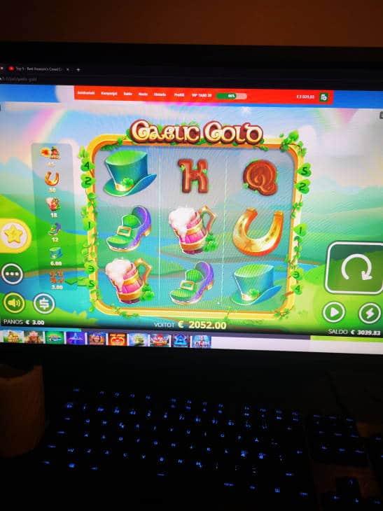 Gaelic Gold Casino win picture by Jojelini 4.4.2020 2052e 684X LeoVegas