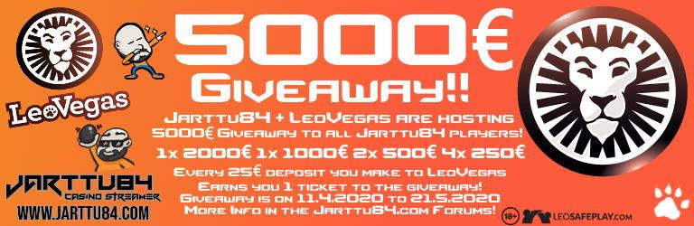 LeoVegas Giveaway