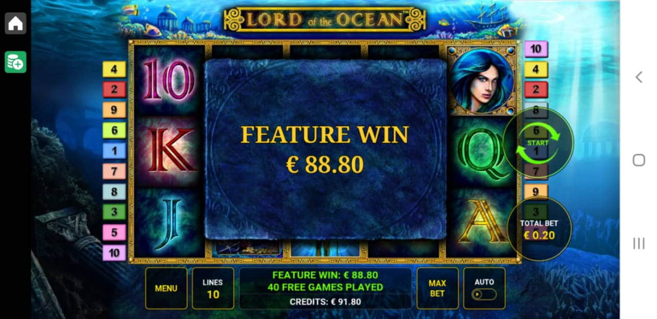 Lord of the Ocean Casino win picture by Henkka1986 23.4.2020 88.80e 444X