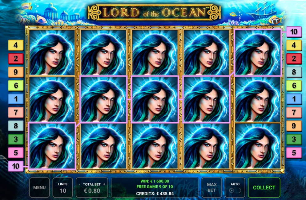 Lord of the Ocean Casino win picture by Sarvi 4.1.2020 1600e 2000X