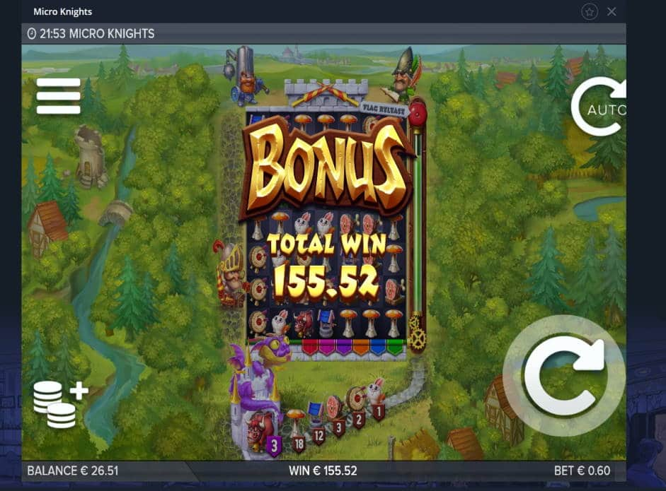 Micro Knights Casino win picture by Mrmork666 8.4.2020 155.52e 259x