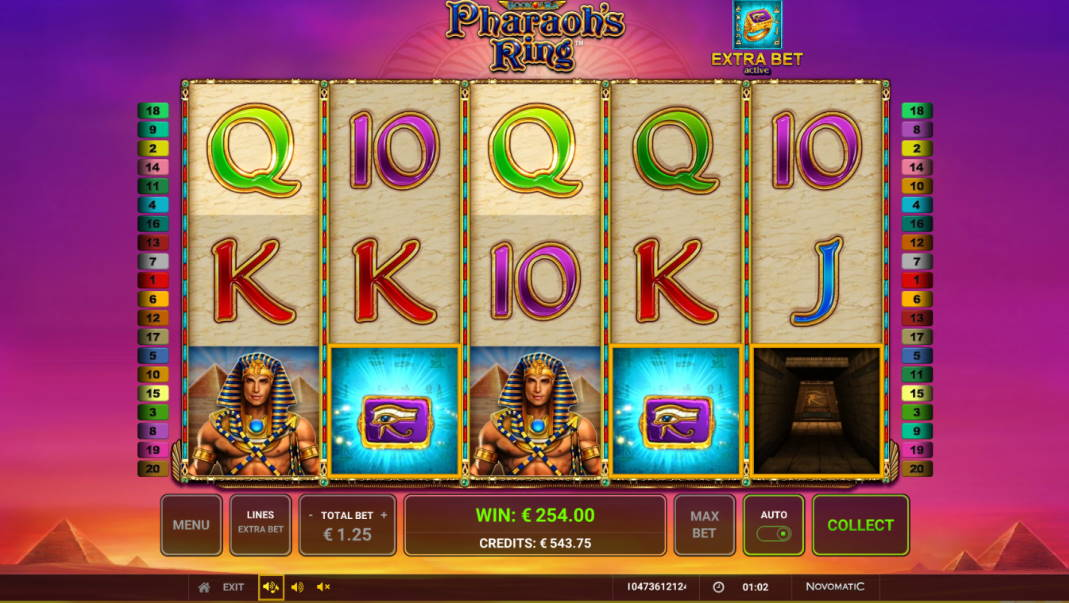 Pharaohs Ring Casino win picture by Morrimoykky 1.4.2020 254e 203X