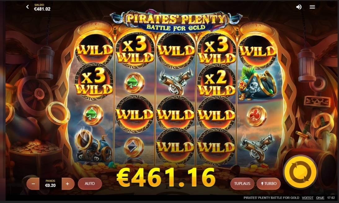 Pirates Plenty Battle for Gold Casino win picture by caqtor89 26.4.2020 461.16e 2306X