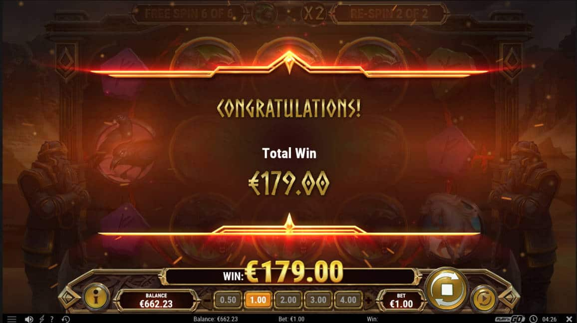 Ring of Odin Casino win picture by Kari Grandi 29.4.2020 179e 179X