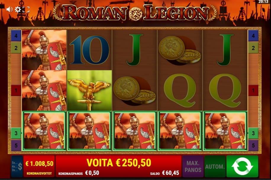Roman Legion Casino win picture by Turboburo 24.4.2020 1008.50e 2017X