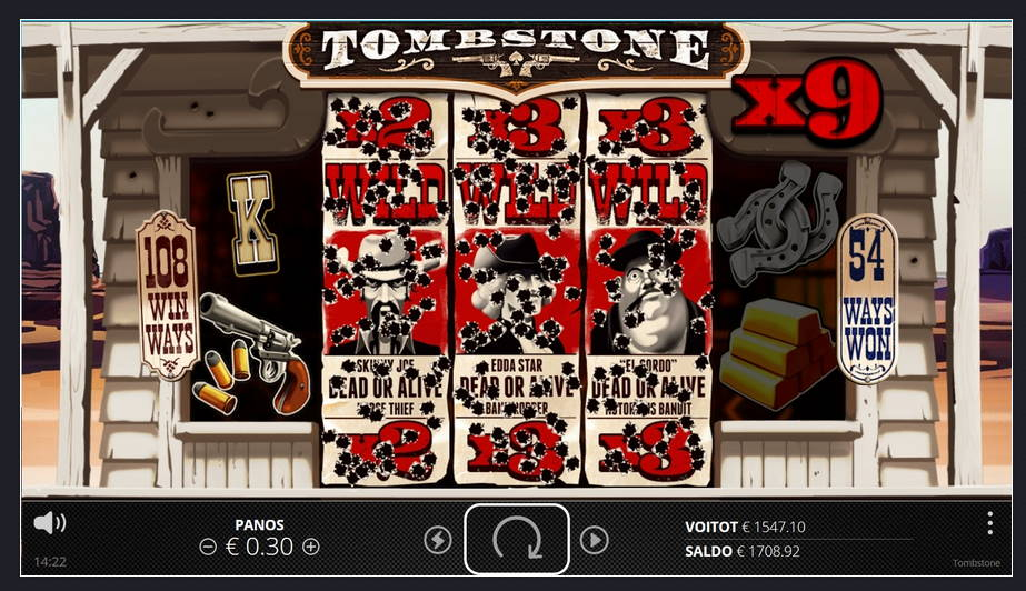 Tombstone Casino win picture by Su0kki 7.4.2020 1547.10e 5157X