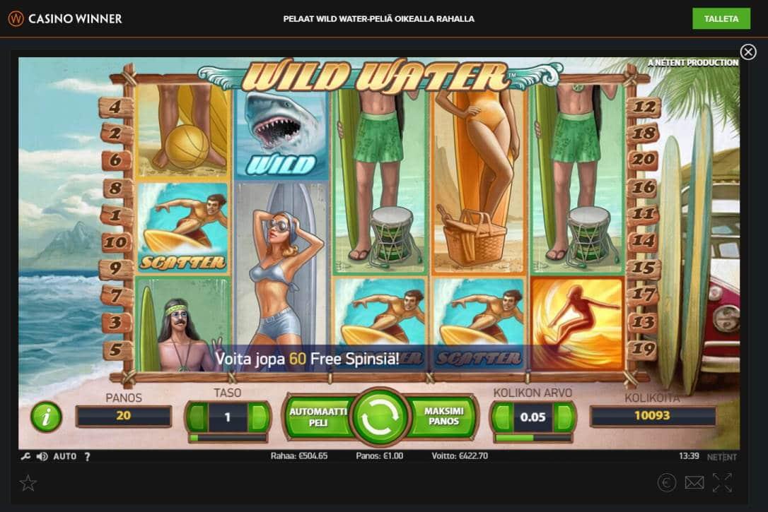 Wild Water Casino win picture by Banhamm 422.70e 723X Casino Winner
