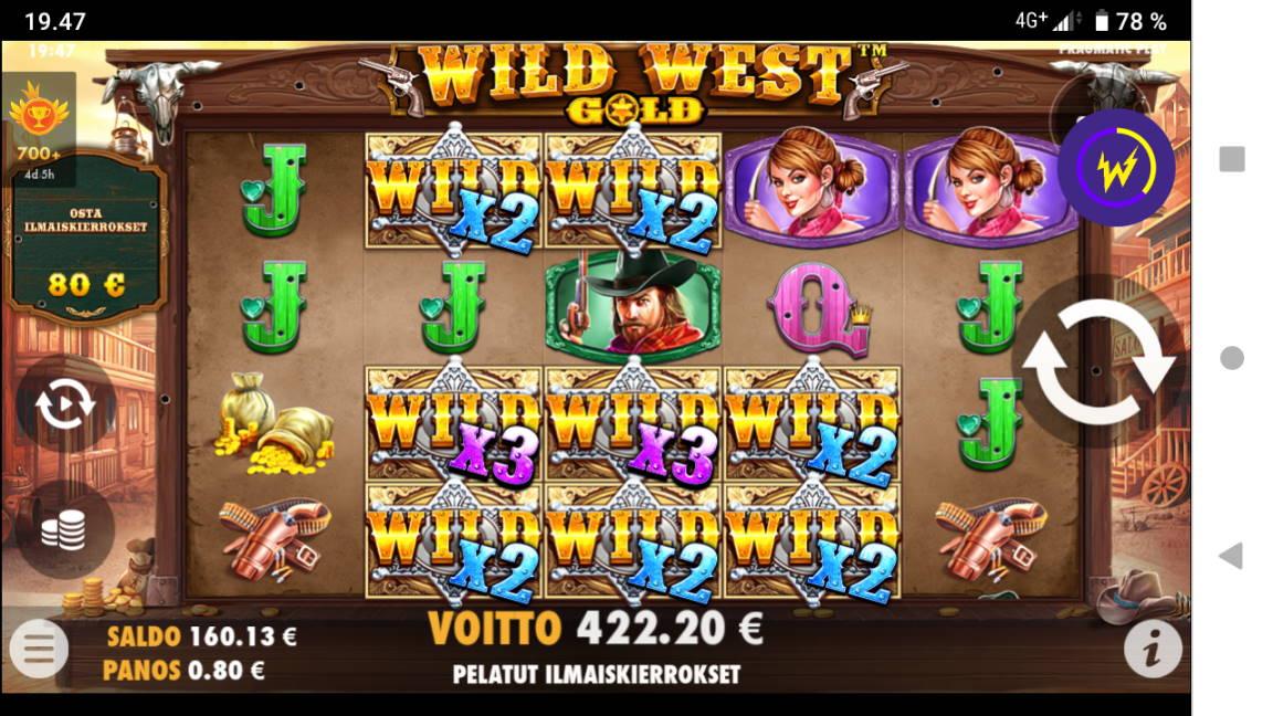 Wild West Gold Casino win picture by tiikerililja87 25.4.2020 422.20e 528X Wildz