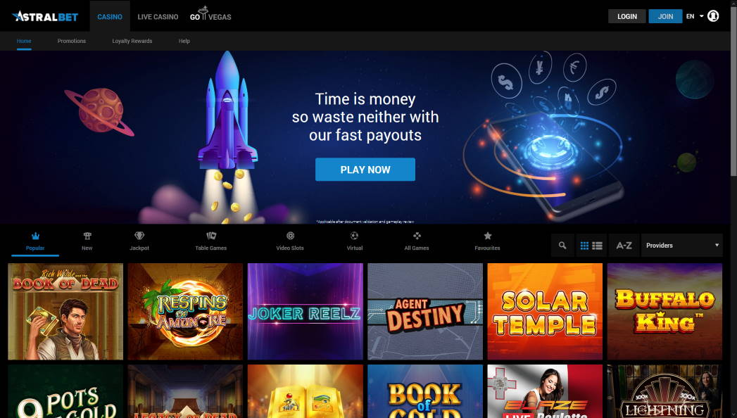Astral bet casino reviews