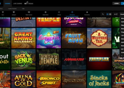 Astralbet Casino Slots Lobby