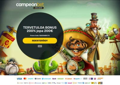 Campeonbet Casino Exclusive Bonus