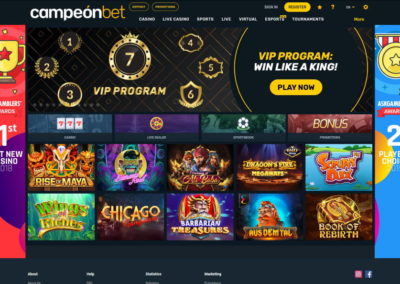 Campeonbet Casino Lobby