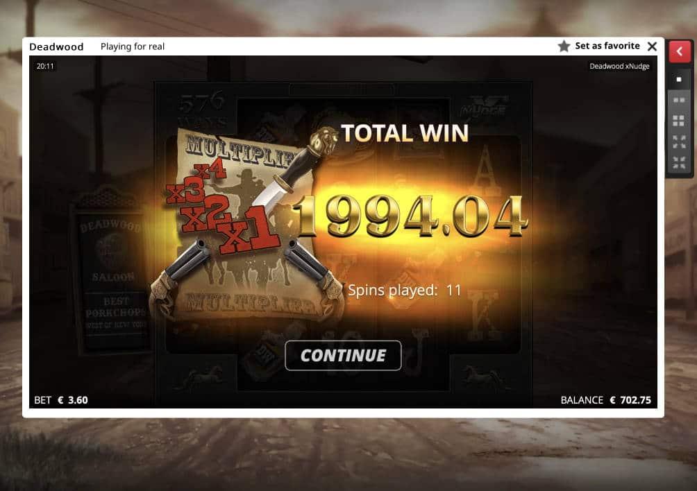 Deadwood Casino win picture by Pottijussi 22.5.2020 1994.04e 554X