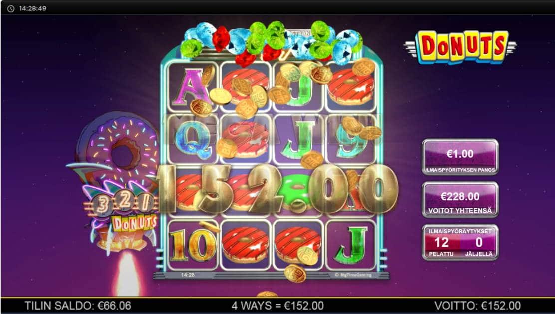Donuts Casino win picture by Kari Grandi 4.5.2020 228e 228X
