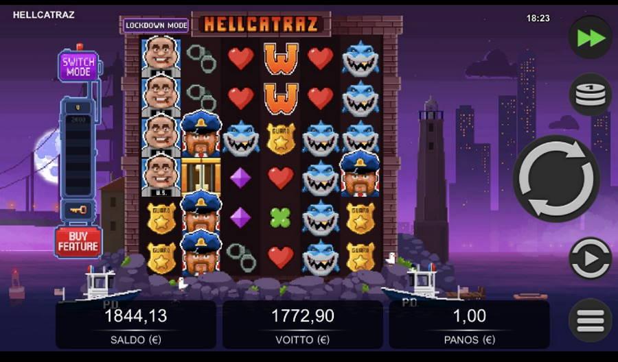 Hellcatraz Casino win picture by Sherraak 19.5.2020 1772.90e 1773X