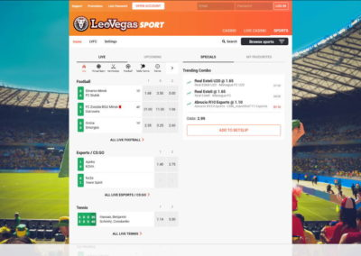 LeoVegas Casino Sports Betting