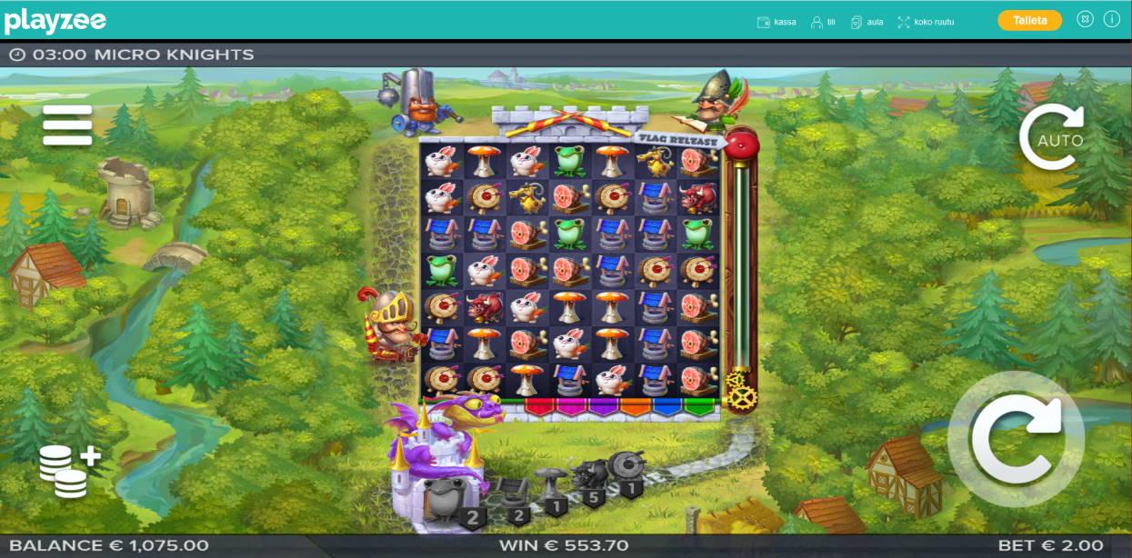 Micro Knights Casino win picture by Klaspetterniklas 3.5.2020 553.70e 277X Playzee