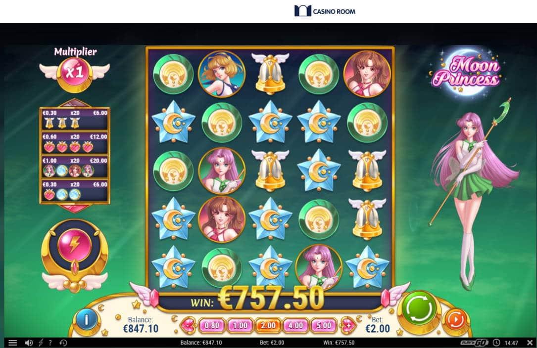 Moon Princess Casino win picture by Klaspetterniklas 3.5.2020 757.50e 379X Casino Room