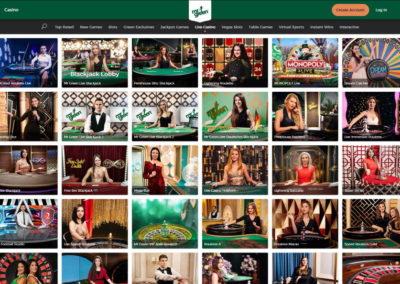 MrGreen Casino Live Casino