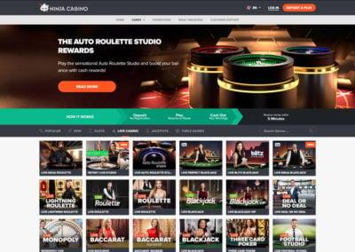 Ninja Casino Live Casino