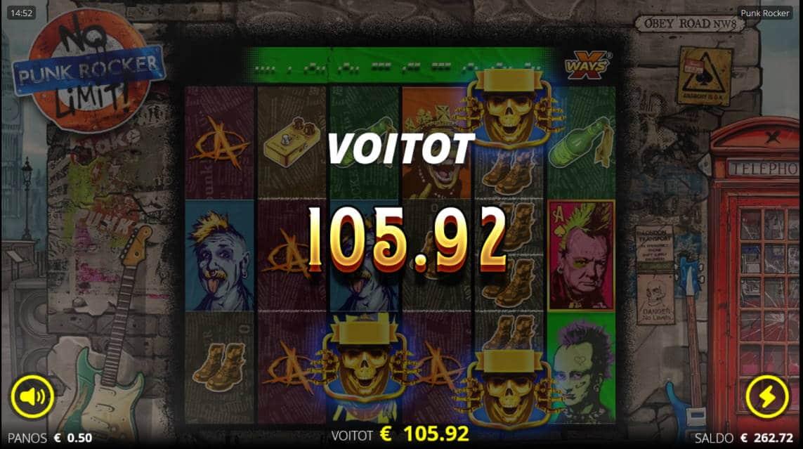 Punk Rocker Casino win picture by Kari Grandi 30.4.2020 105.92 212X