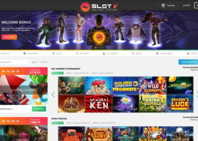 SlotV Casino Tournaments