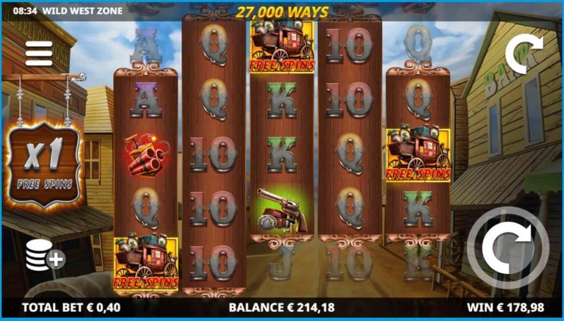 Wild West Zone Casino win picture by Rektumi 4.5.2020 214.18e 535X