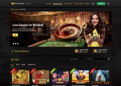 Winfest Casino Lobby