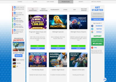 24Bettle Casino Promotions