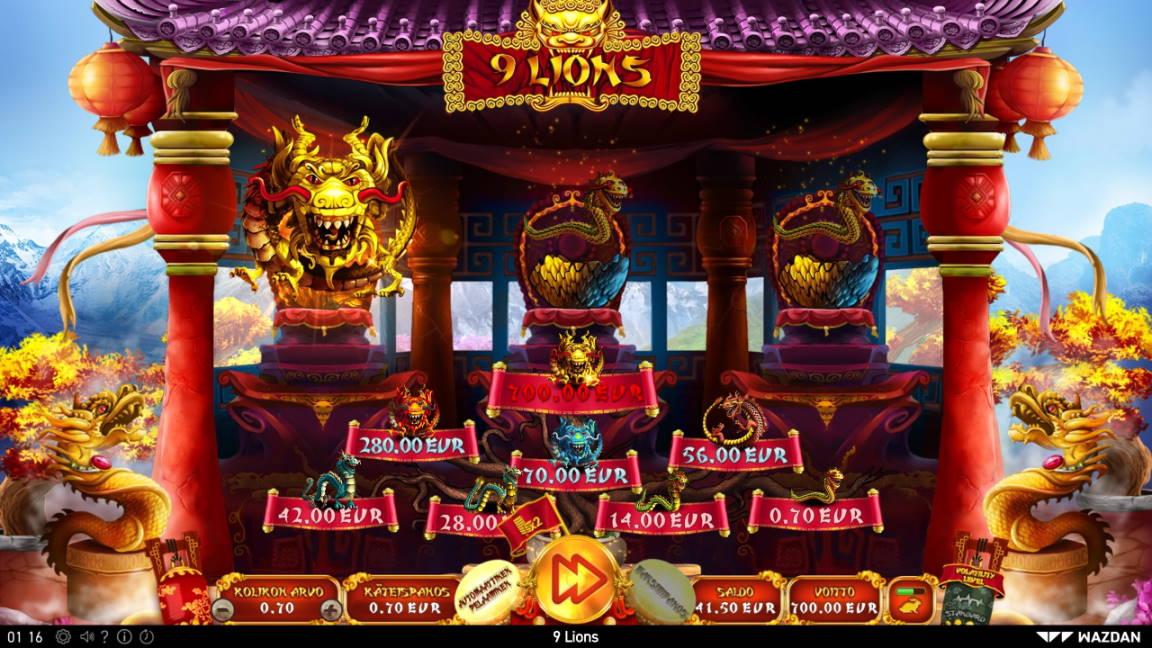 9 Lions Casino win picture by Steppeni 12.6.2020 700e 1000X