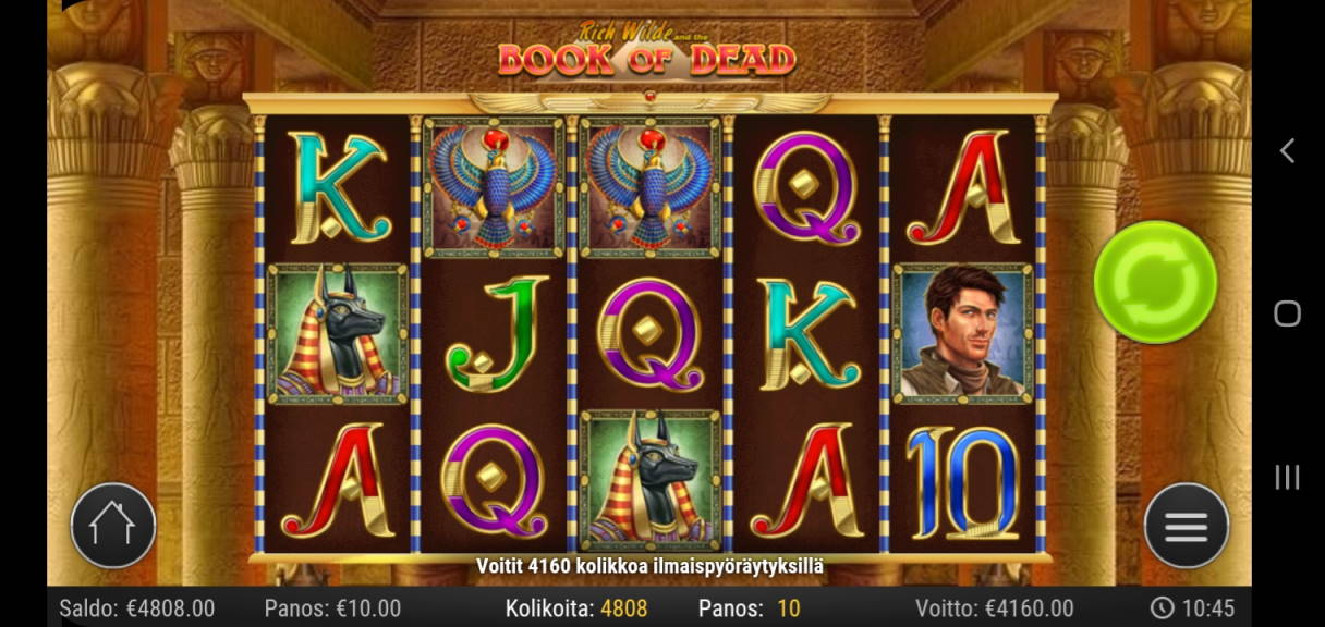 Book of Dead Casino win picture by Shorty 4.6.2020 4160e 416X