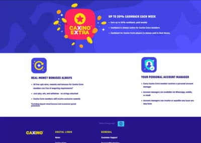Caxino Casino VIP Program
