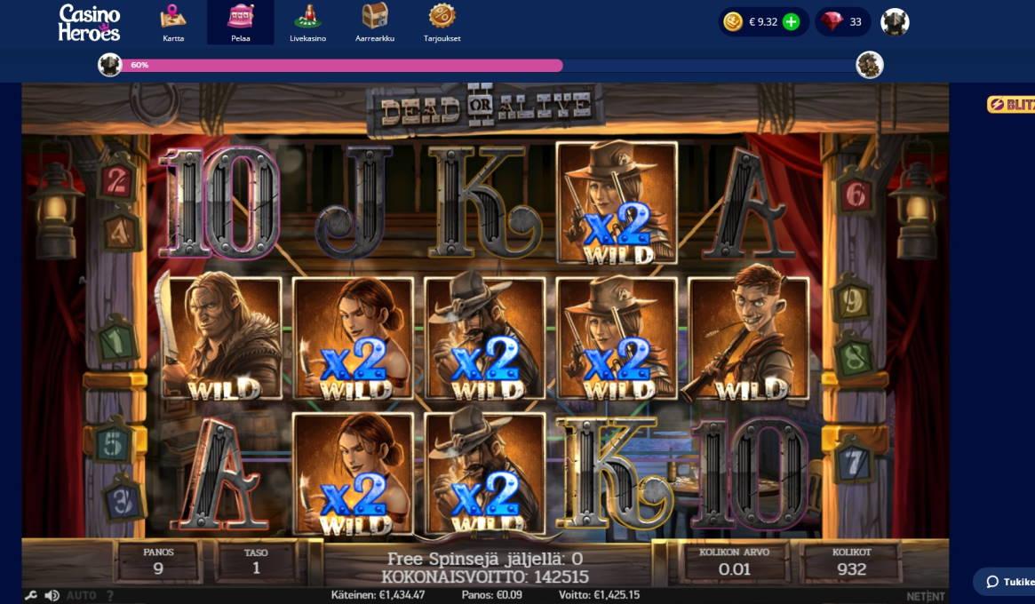 Dead or Alive 2 Casino win picture by Banhamm 29.5.2020 1425.15e 15835X Casino Heroes
