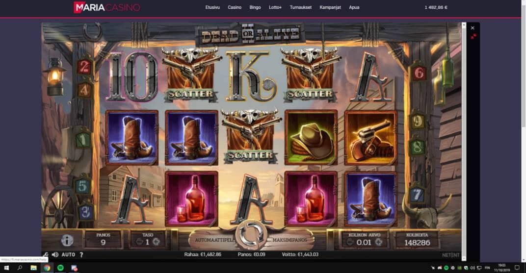 Dead or Alive 2 Casino win picture by jonkki 30.5.2020 1443.03e 16034X Maria Casino