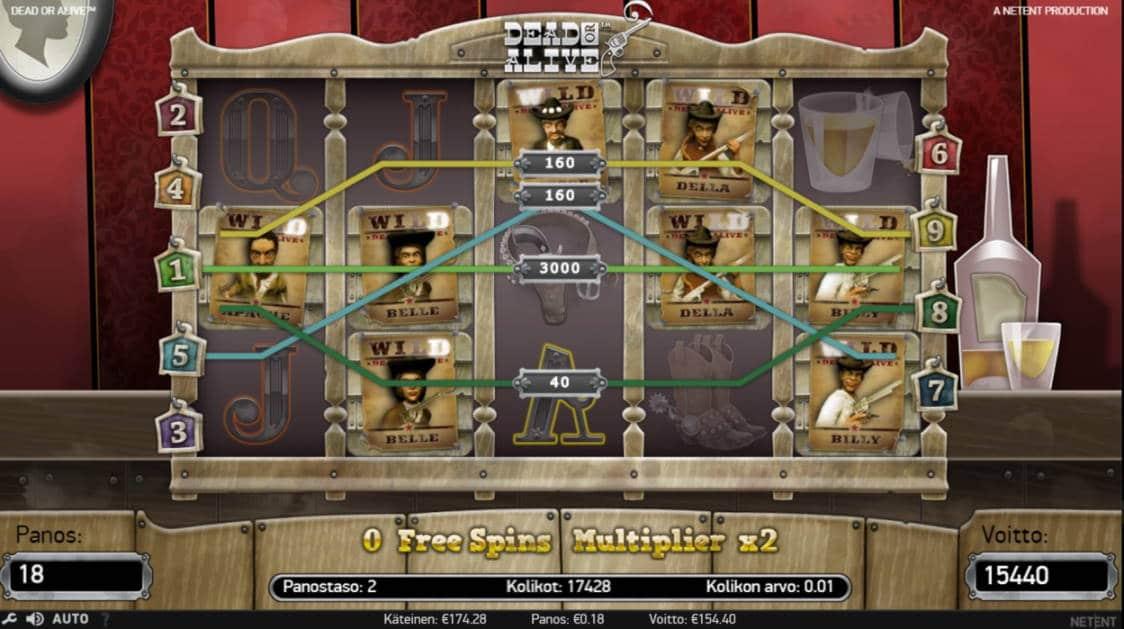Dead or Alive Casino win picture by Henkka1986 16.6.2020 154.40e 858X 24 Battle