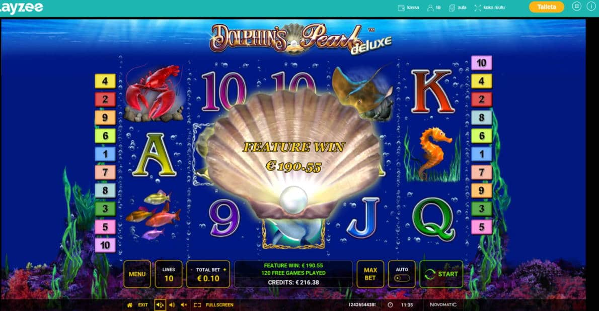 Dolphins Pearl Casino win picture by Banhamm 7.6.2020 190.55 1906X Playzee