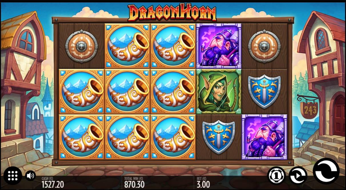 Dragon Horn Casino win picture by Klaspetterniklas 25.4.2020 870.30e 290X