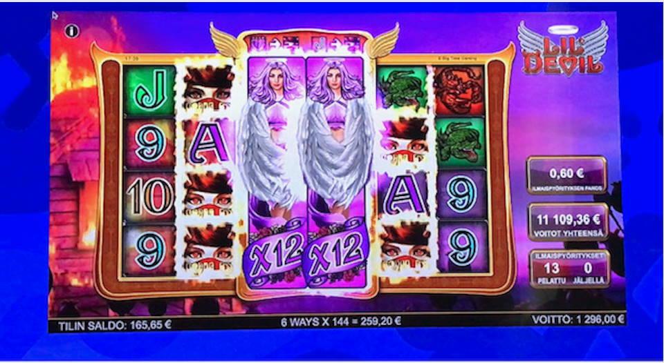 Lil Devil Casino win picture by 777toBo777 21.6.2020 11109.36e 18516X